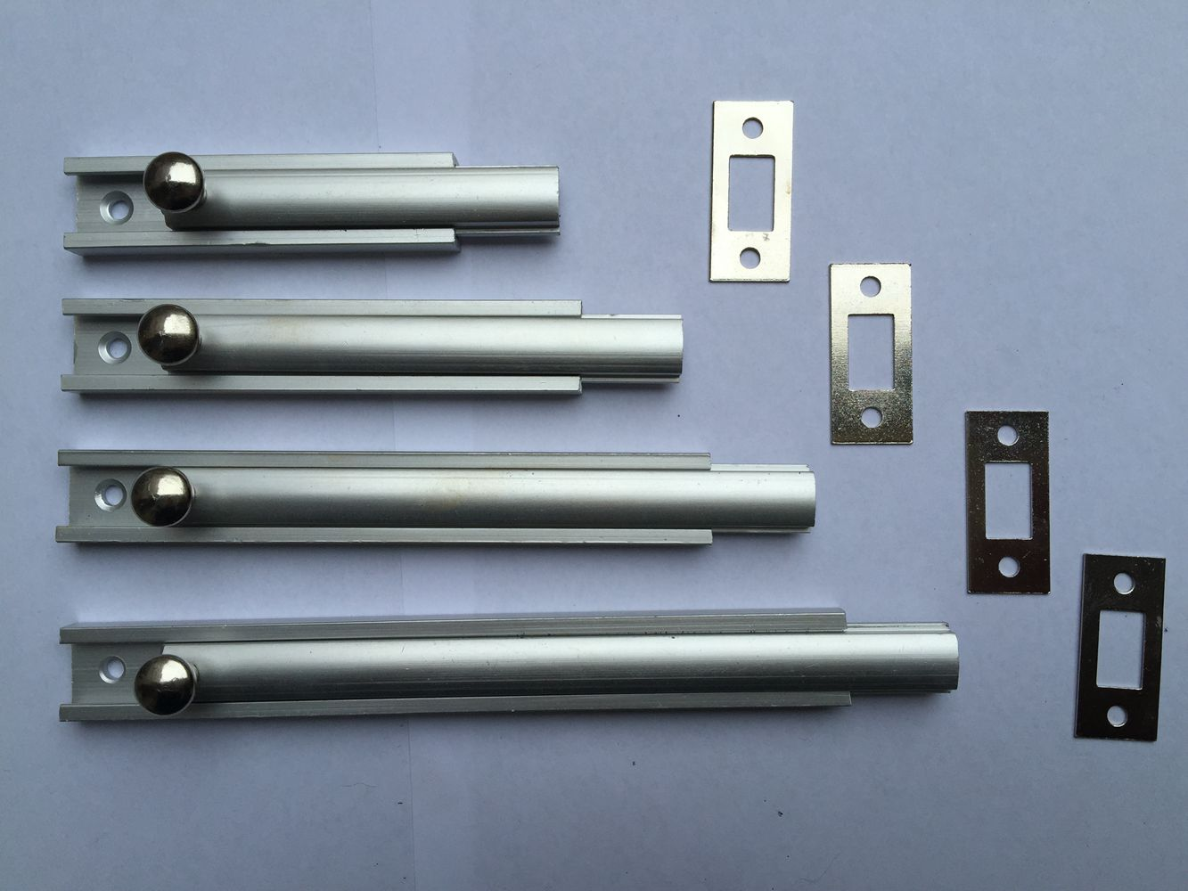 aluminium tower bolt